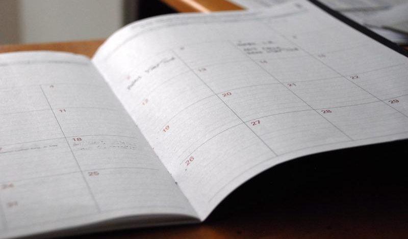 Kalendarium – najbliższe terminy